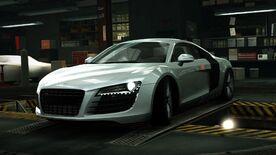 AudiR8SilverWorld