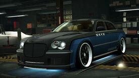 NFSW Chrysler HEMI 300C SRT8 Blue Juggernaut