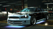 NFSW Dodge Charger SRT8 Super Bee Blue Juggernaut