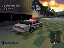 Atlantica PD Ford Crown Victoria in the PSX version of Need for Speed III Hot Pursuit