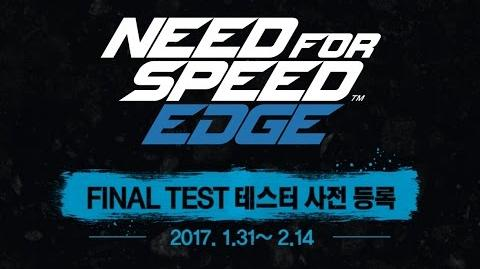Need for Speed Edge - Final Test