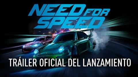 Tráiler oficial de lanzamiento de Need For Speed
