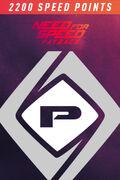 NFSPB SpeedPoints Card2200