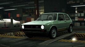 NFSW Volkswagen Golf Mk1 GTI Green