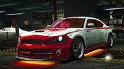NFSW Dodge Charger SRT8 Super Bee Red Juggernaut