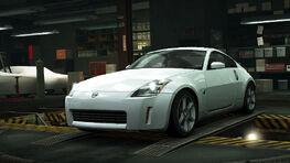 NFSW Nissan 350Z White