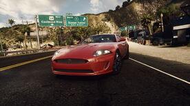 NFSE Jaguar XKR