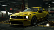 NFSW Ford Shelby Terlingua Mustang Yellow