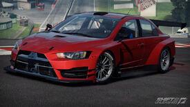 Mitsubishi Lancer Evolution X shift 2 unleashed