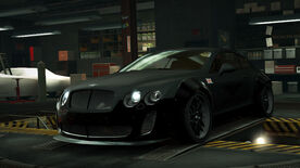 NFSW Bentley Continental Supersports Coupe Spitfire