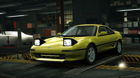 NFSW Toyota MR-2 Yellow