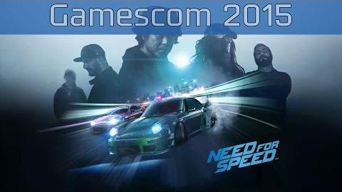 Need for Speed - Gamescom 2015 Trailer HD 1080P