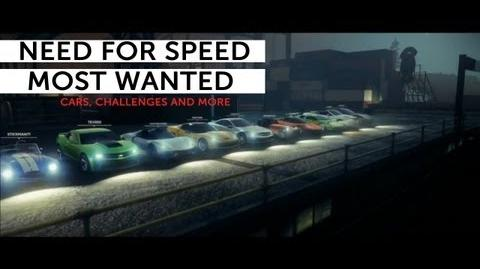 Need for Speed Most Wanted - Alex Ward details challenges, cars and multiplayer