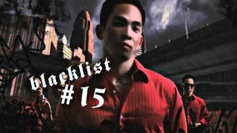 NFS Most Wanted Blacklist Bio - 15 Sonny