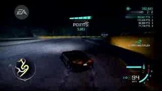 Need for Speed CARBON Track Drifting