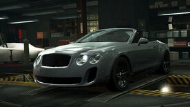 NFSW Bentley Continental Supersports Convertible Grey
