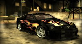 Razor's mustang nfs most wanted demo