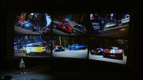 Need For Speed Hot Pursuit - E3 2010 Press Conference