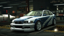 NFSW BMW M3 GTR E46 Most Wanted
