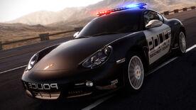 Porsche Cayman S CopCARPAGE