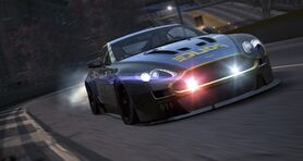 Aston martin v12 vantage cop nfs world