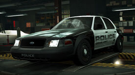 NFSW Ford Crown Victoria Police Interceptor Cruiser