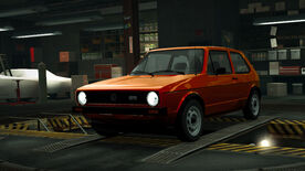 NFSW Volkswagen Golf MK1 GTI Orange