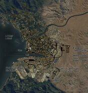 Bayview Mapa en Desarrollo de Día