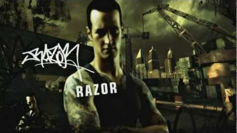 NFS Most Wanted Blacklist Bio - 1 Razor