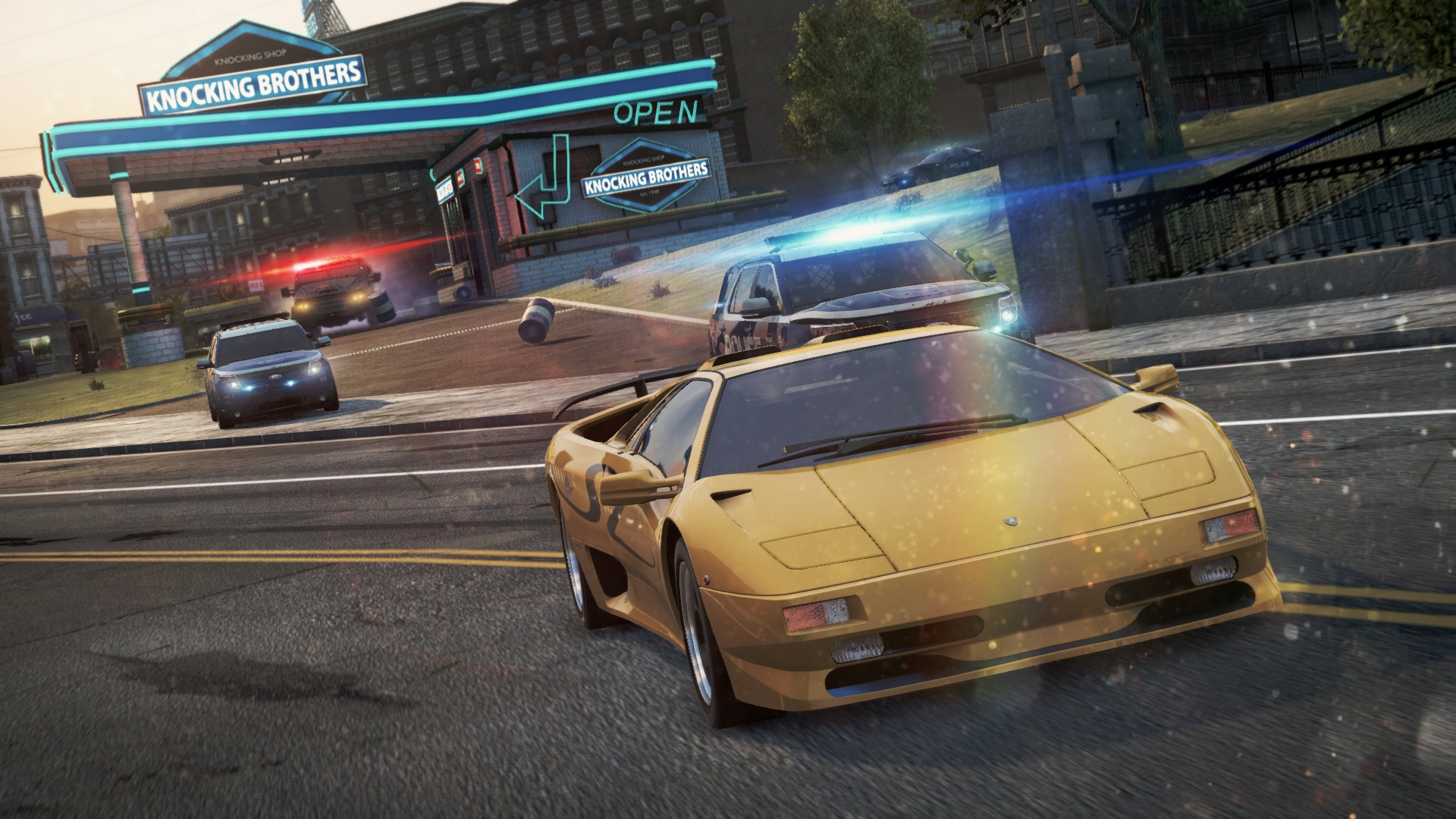 MW2012DiabloSVPursuit Pursuit Is A Singleplayer Game Mode Featured In Need For Speed Most Wanted 2012
