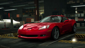 NFSW Chevrolet Corvette Z06 Red