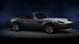 NFSHP2 PS2 BMW Z8