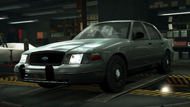 NFSW Ford Crown Victoria Police Interceptor Grey