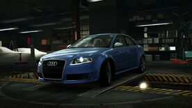 AudiRS4BlueWorld