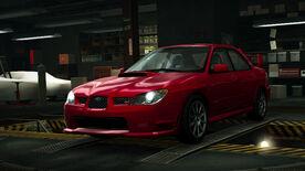 NFSW Subaru Impreza WRX STI Red