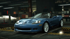 NFSW Chevrolet Corvette ZR1 Blue