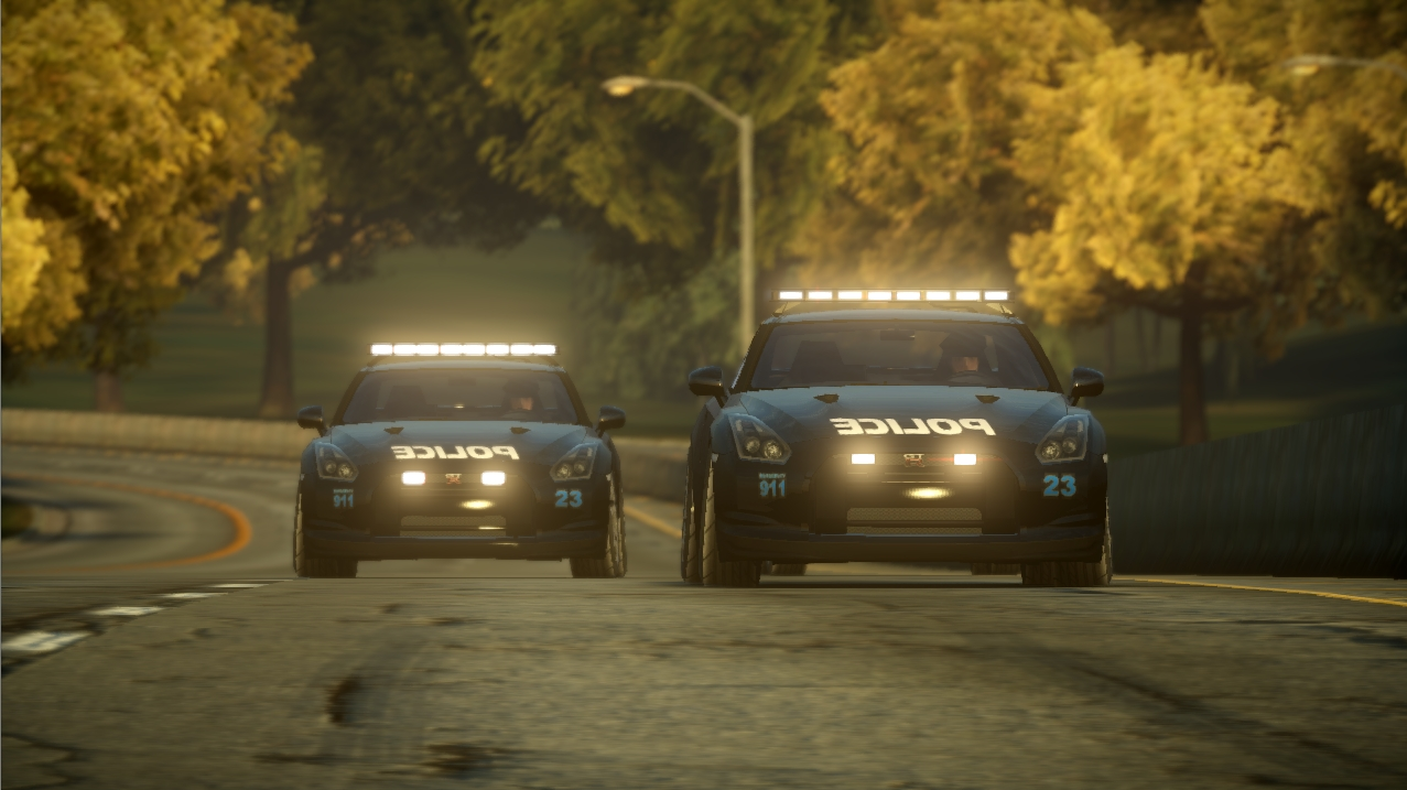 Nfs The Run Nissan Gtr Police