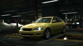 NFSW Lexus IS300 Yellow