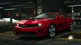NFSW Chevrolet Camaro ZL1 Red