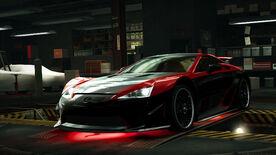 NFSW Lexus LFA Beast