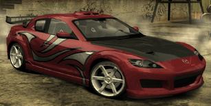 NFSMW MIA RX8