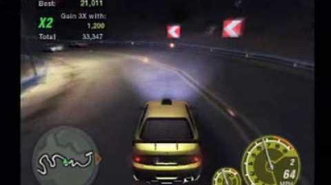 Need for Speed Underground 2 - Drift