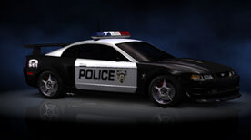 NFSHP2 PS2 Ford SVT Mustang Cobra R Pursuit