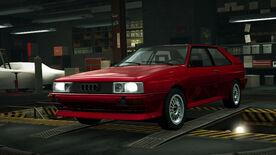 NFSW Audi quattro 20 V Red