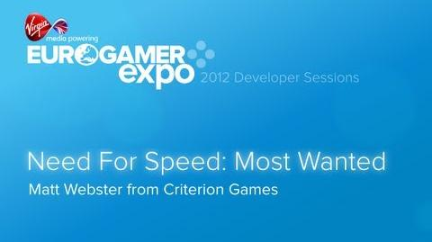 Eurogamer Expo 2012 Need for Speed Most Wanted