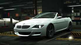 NFSW BMW M6 Convertible White
