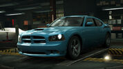 NFSW Dodge Charger SRT8 Super Bee Blue