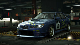 NFSW Subaru Impreza WRX STI Lapse