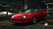 NFSW Toyota Supra Red