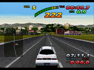 T-10613G 13,,Sega-Saturn-Screenshot-13-Nissan-Presents-Over-Drivin-GT-R-JPN